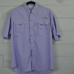 Columbia Omni-shade short sleeve outdoor shirt